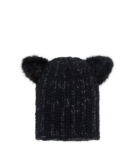 Eugenia Kim | Black Fur Kitty Ear Felix Beanie | Lyst