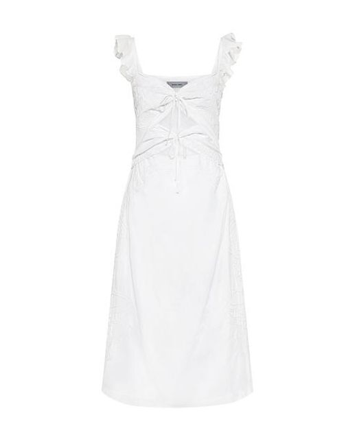 Rachel Comey - White Chernist Ruffle Embroidery Cutout Dress - Lyst
