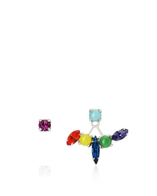 Joomi Lim | Multicolor Candy Crush Crystal Floating Stud Earrings | Lyst