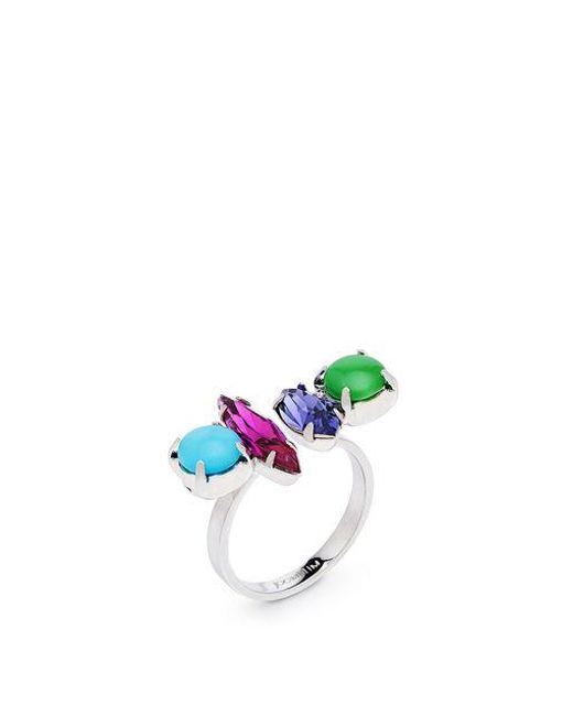 Joomi Lim - Multicolor Candy Crush Crystal Open Ring - Lyst