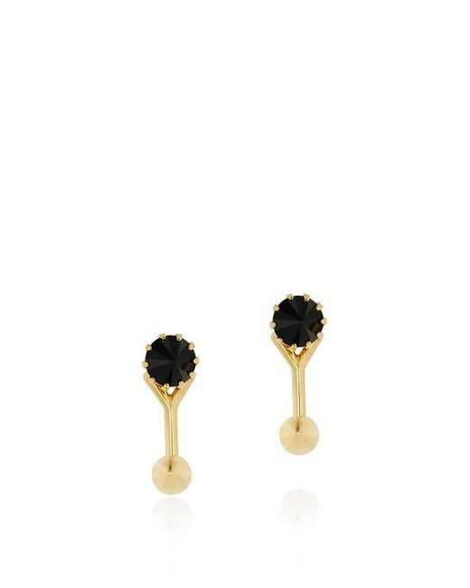 Joomi Lim | Metallic Love Thorn Crystal Floating Spike Stud Earrings | Lyst