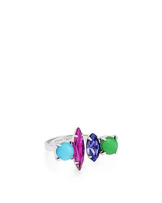 Joomi Lim CANDY CRUSH Crystal STUD EARRINGS Blue/pink/purple/green BCPE8E1J