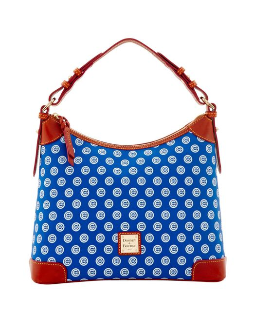 Dooney & Bourke - Blue Mlb Cubs Hobo - Lyst