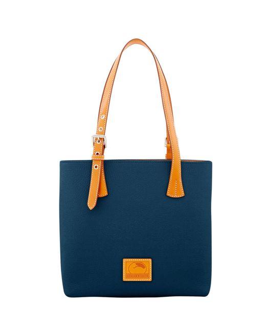 Dooney & Bourke - Blue Patterson Leather Emily Shoulder Bag - Lyst