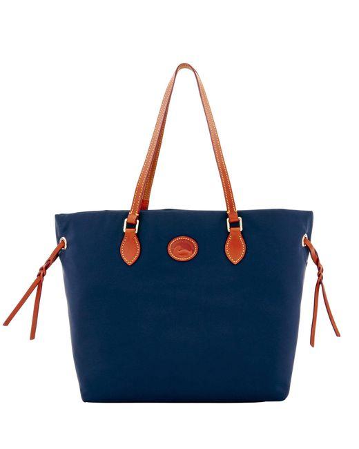 Dooney & Bourke - Blue Nylon Shopper - Lyst