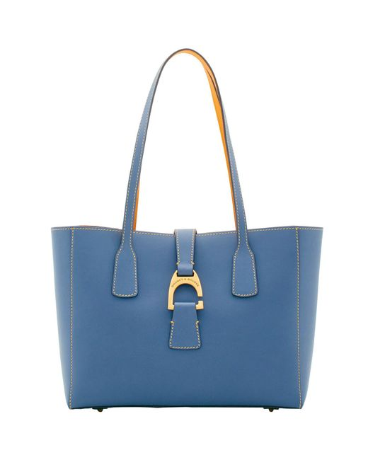 881cd6431a26 Lyst - Dooney   Bourke Emerson Small Shannon Tote in Blue - Save 33%