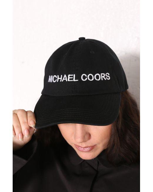 INTENTIONALLY ______ | Fashion Usa Hat Black Cotton | Lyst
