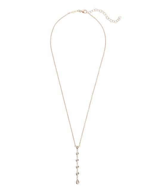 Jacquie Aiche - Metallic 5 Diamond Y Necklace - Lyst