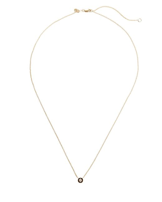 Sydney Evan - Metallic Single Stone Necklace - Lyst