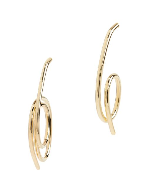 Joanna Laura Constantine - Metallic Knot Earrings - Lyst