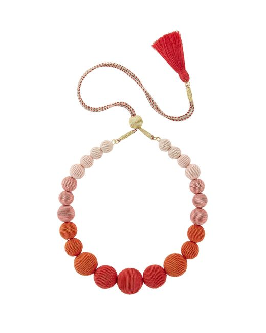 Suzanna Dai | Multicolor Ombré Gumball Necklace | Lyst