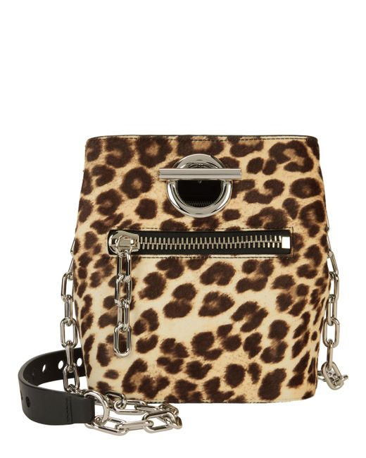 Alexander Wang - Brown Leopard Riot Bag - Lyst