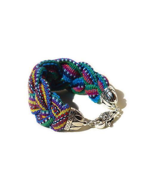 Ix Style | Red Braided Bracelet | Lyst