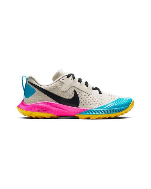 82e7b95a260 Nike - Pink Air Zoom Terra Kiger 5 Trail Running Shoe - Lyst ...