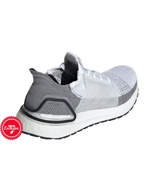 9bc09b0f80d3f ... Adidas - Gray Ultraboost 19 Running Shoe for Men - Lyst ...