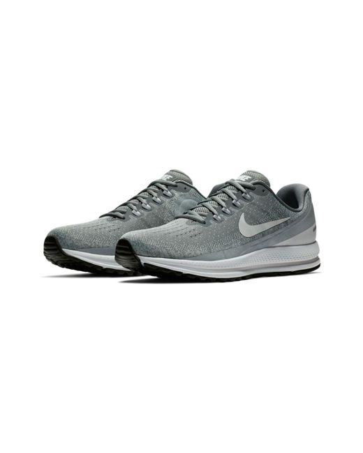 164fe3ec437b0 ... coupon nike gray mens air zoom vomero 13 running shoes for men 43c89  eed83