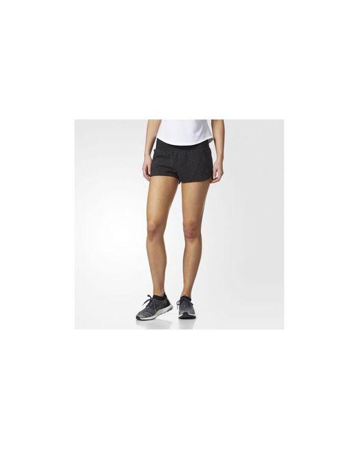 a5c6fc899c91f Adidas - Black Women s Supernova Glide Shorts - Lyst ...