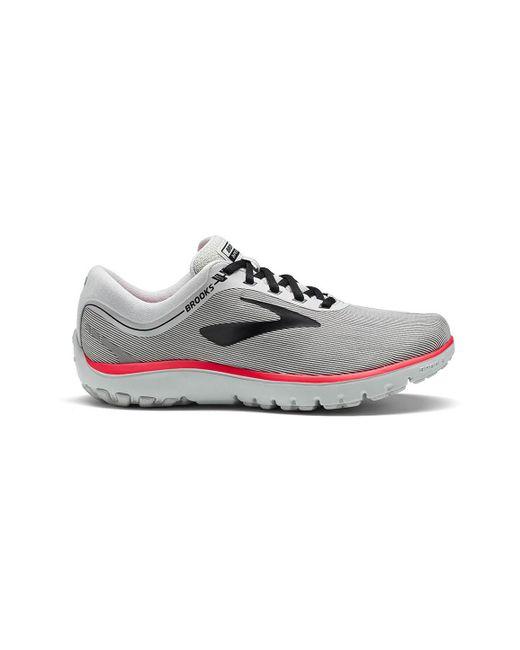 Brooks - Gray Women's Pureflow 7 Running Shoes - Lyst