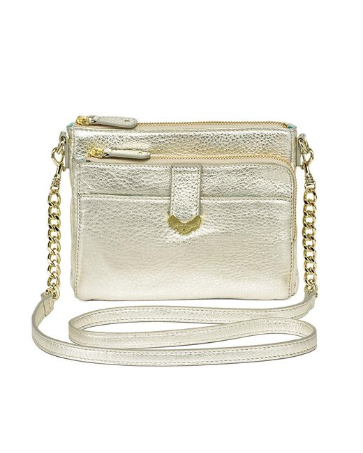 Jack Rogers - Metallic Celeste Small Crossbody / Wallet - Lyst