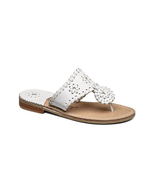 Jack Rogers - White Miss Palm Beach Sandal - Lyst