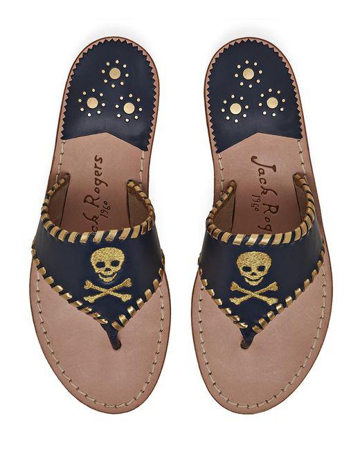 Jack Rogers | Multicolor Exclusive Jacks Skull & Crossbones Sandal | Lyst