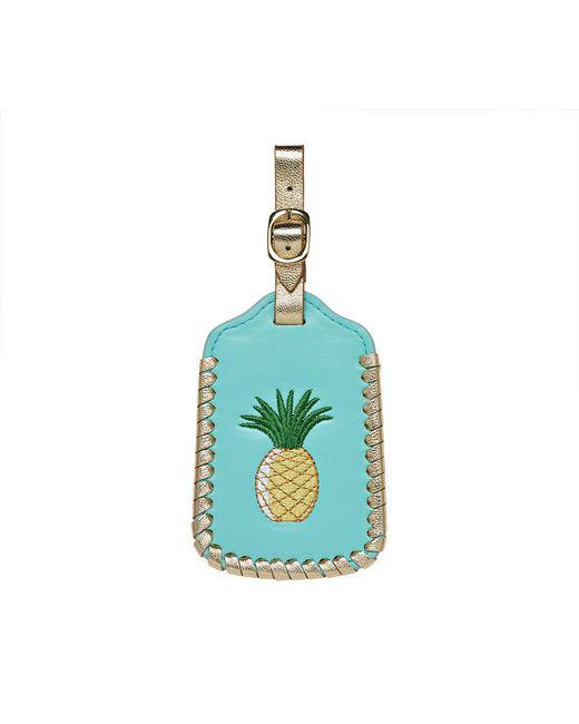 Jack Rogers - Blue Pineapple Luggage Tag - Lyst