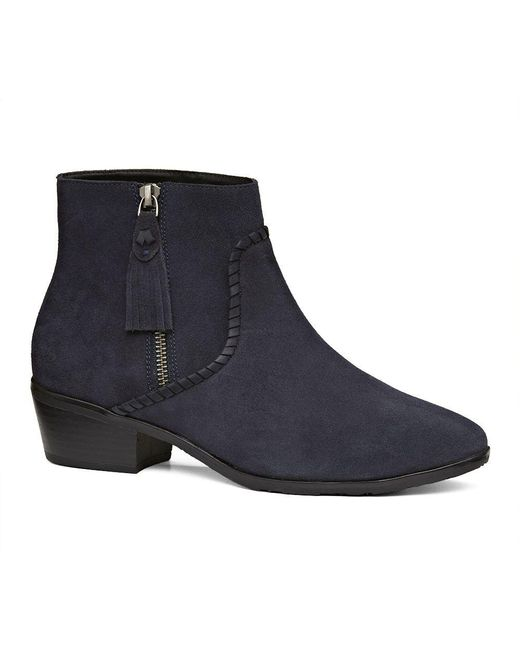 Jack Rogers - Blue Dylan Suede Bootie - Lyst