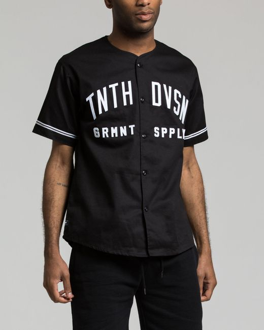 10.deep - Black Barn League Baseball Jersey for Men - Lyst