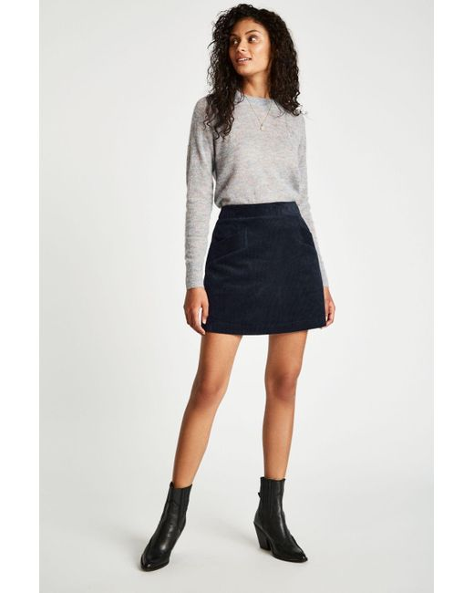 6e72ede7c Jack Wills Jacklyn Cord Mini Skirt in Blue - Save 29% - Lyst