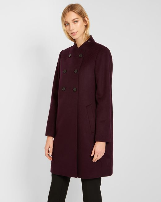 Jaeger | Multicolor Button Detail Collarless Coat | Lyst