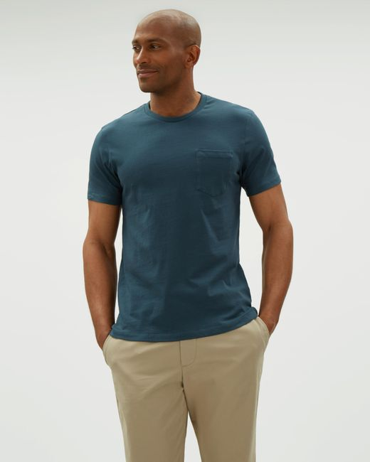 Jaeger - Green Organic Cotton T-shirt for Men - Lyst