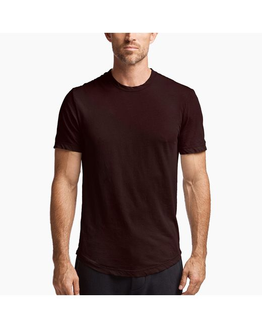 James Perse - Purple Clear Jersey Crew for Men - Lyst