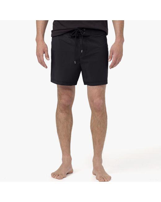 James Perse | Black Yosemite Lightweight Swim Trunk for Men | Lyst