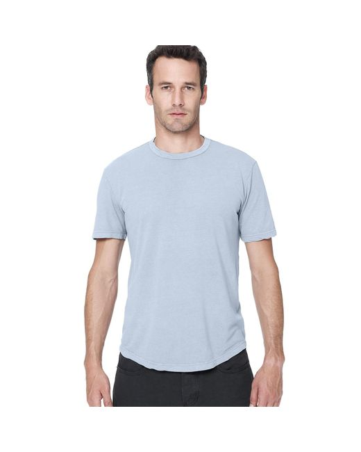 James Perse | Blue Clear Jersey Crew for Men | Lyst