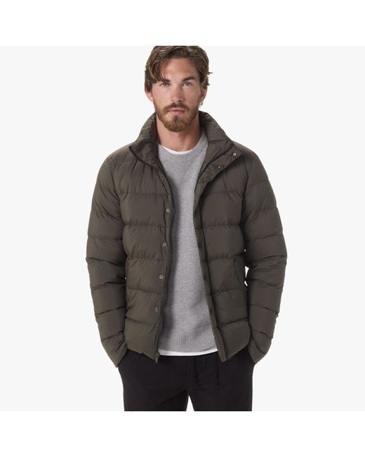 James Perse | Green Yosemite Matte Nylon Puffer Jacket for Men | Lyst