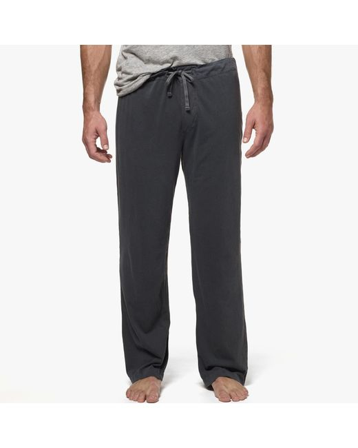 James Perse | Black Jersey Pajama Pant for Men | Lyst