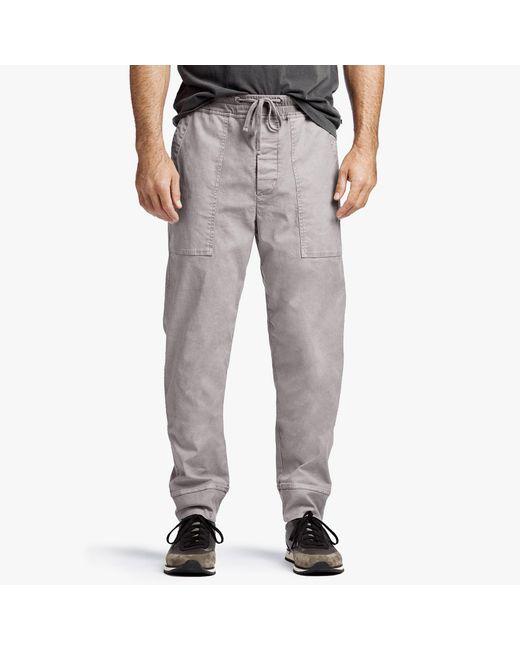 Mens Cotton-Blend Poplin Pants James Perse Limited Edition Sale Online Exclusive Online Best Sale Online WvUBcKC