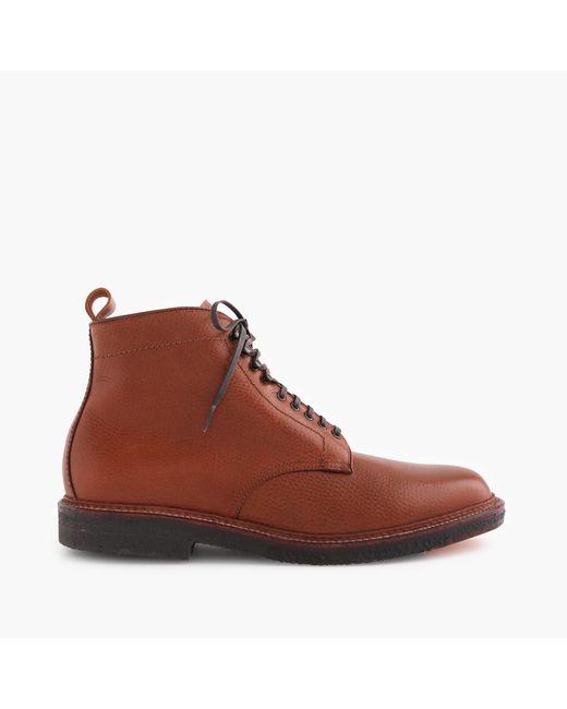 J.Crew   Brown Alden Plain-toe Boots for Men   Lyst