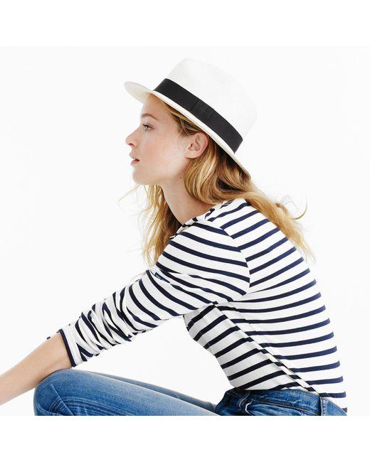 J.Crew - Natural Panama Hat - Lyst