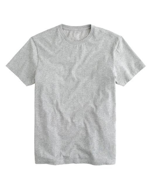 J.Crew | Gray Slim Broken-in T-shirt for Men | Lyst