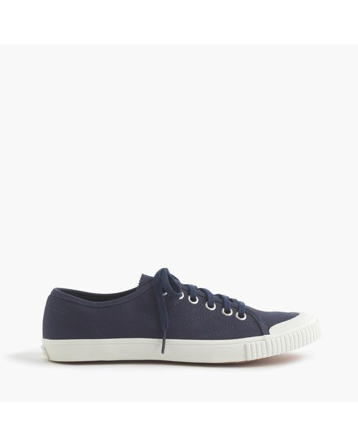 J.Crew | Blue Women's Tretorn Canvas T56 Sneakers | Lyst