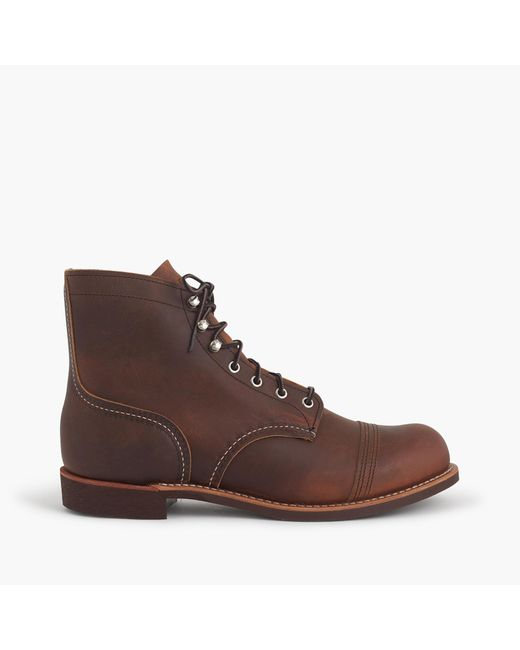 J.Crew | Brown Red Wing Iron Ranger Boots In Coffee for Men | Lyst