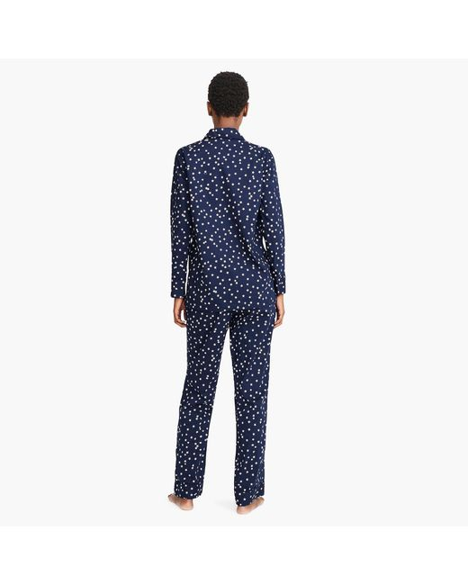 dbdcd70a15ced ... J.Crew - Blue Vintage Pajama Set In Constellations - Lyst ...