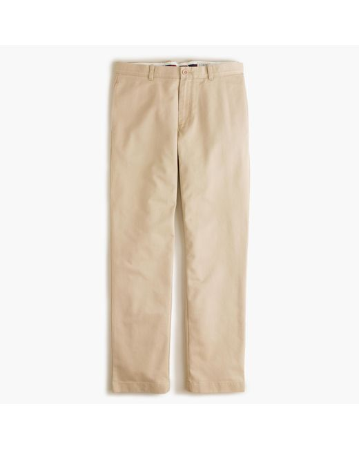 J.Crew | Natural Essential Chino Pant In 770 Straight Fit for Men | Lyst
