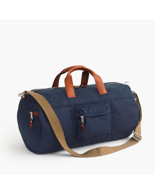J.Crew   Blue Harwick Duffel Bag for Men   Lyst