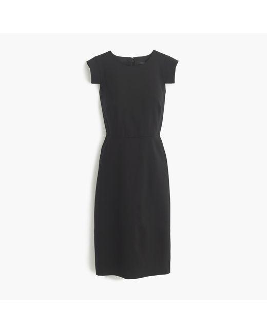 J.Crew - Black Résumé Dress - Lyst