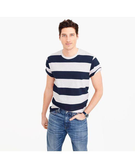 J.Crew | Blue Carhartt Work In Progress Wide-stripe T-shirt for Men | Lyst