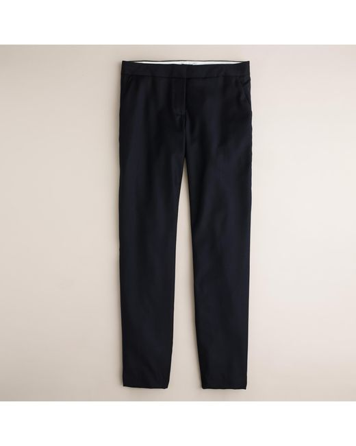 J.Crew | Blue Paley Pant In Super 120s Wool | Lyst