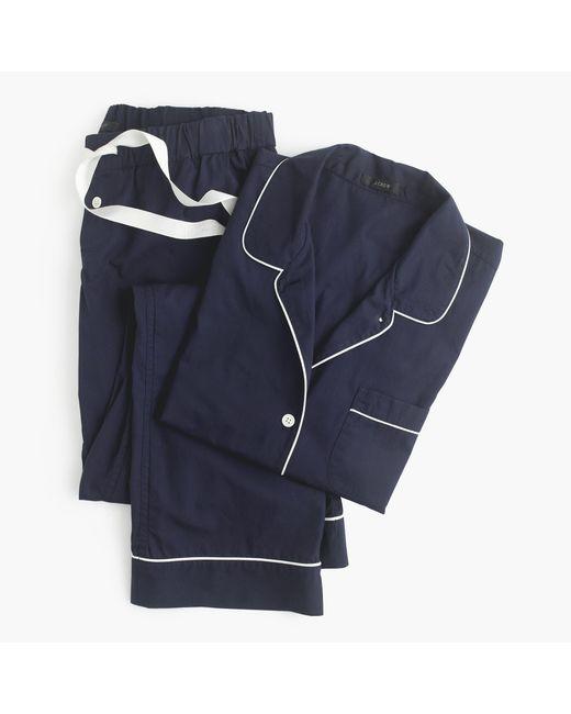 J.Crew | Blue Petite Vintage Pajama Set for Men | Lyst