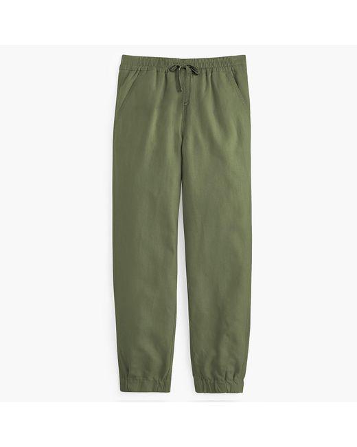 J.Crew - Green Petite Point Sur Seaside Pant In Linen for Men - Lyst